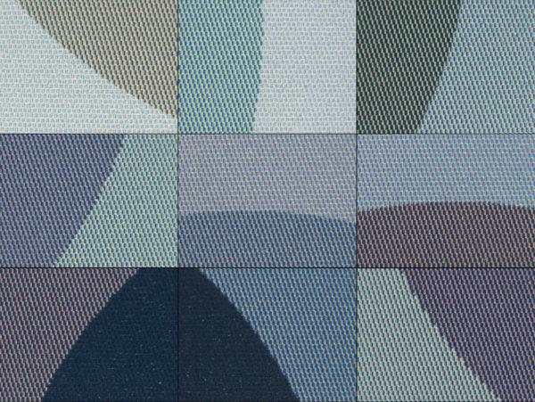 Kaleido-Farbdisplay in Detail: Übergänge zu anderen Farben