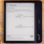 Firmware 14.1: Belegung der Blättertasten