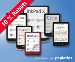 10% Rabatt auf eBook-Reader von PocketBook