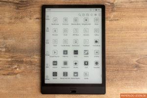 Startseite: Apps