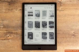 Startseite: Bibliothek