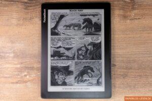 PocketBook Inkpad Lite: Comicseite