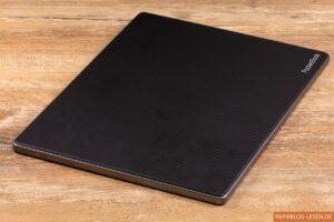 Rückseite des PocketBook Lite